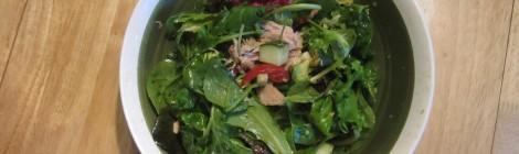 Tuna & Lemon-Balsamic Vinaigrette Salad (Costco Style)