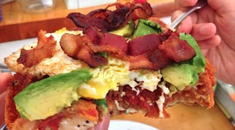 Luciables' Epic Breakfast Bagel